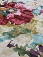 ROmance floral rug in beautiful floral bright colours