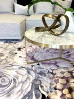 Romance Collection insitu lifestyle image with Romance Mystic Rug in artsilk