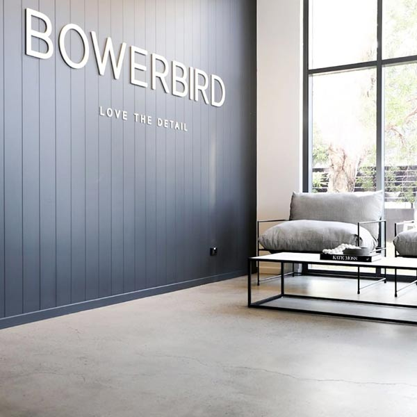 Bowerbird Interiors head office