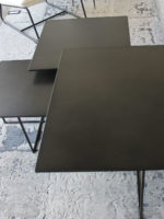 Mia Black coffee and nest tables top