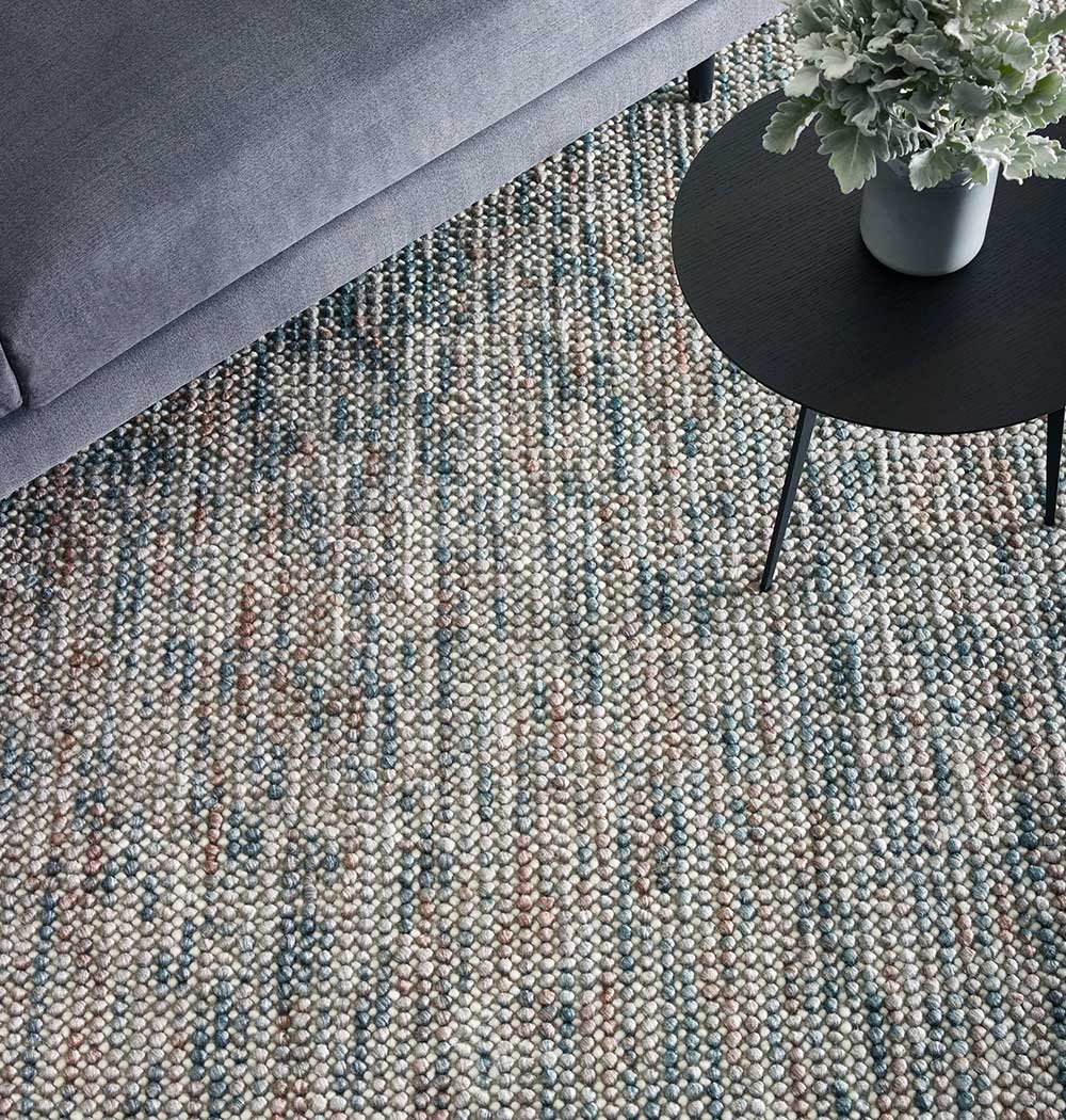 textured and loop pile rugs