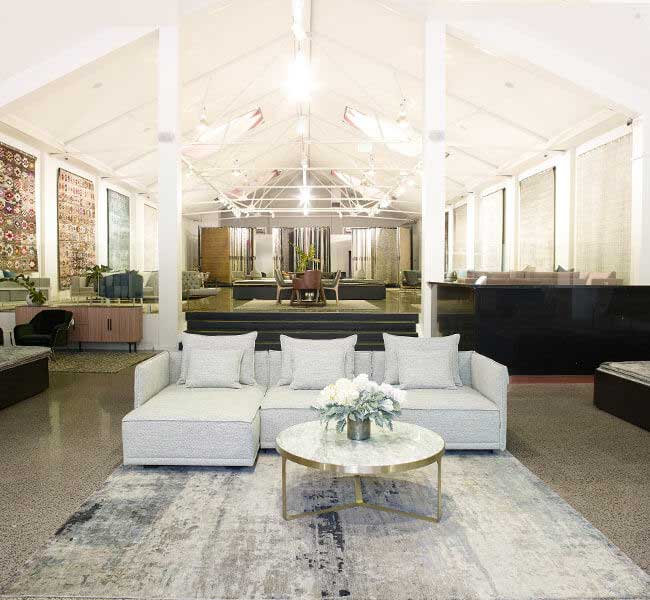 Visit a Rug Collection and Tallira Furniture Trade Showroom