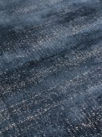 Denver Denim blue speckled two-tone rug detail image