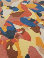 Spectrum abstract multicolour rug