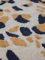 Terrazzo Amber contemporary rug detail image