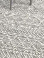 zigo natural wool rug in situ image