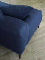 Alexis Sofa in Aegeam blue fabric